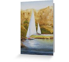 Dows on the Nile Greeting Card