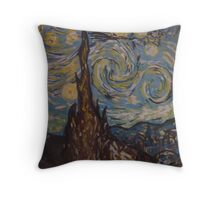 Vincent van Gogh by Kaser Throw Pillow