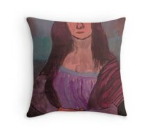 Leonardo da Vinci by Kaser Throw Pillow