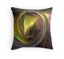 Light fusion I Throw Pillow