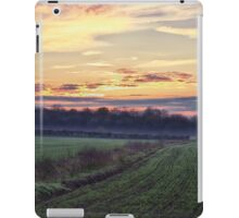 Rural Rolling Mist iPad Case/Skin