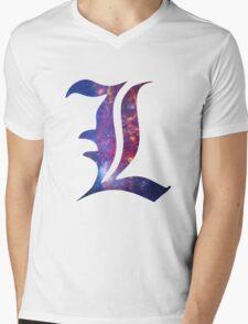 L Death Note Mens V-Neck T-Shirt