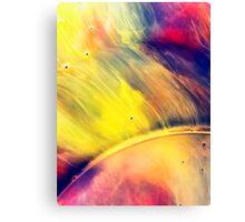 Solar storm 2 - watercolor abstraction painting Canvas Print
