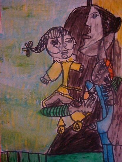 Pablo Picasso by Kaser by Kaser Albeloochi
