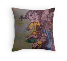 Pablo Picasso by Kaser Throw Pillow