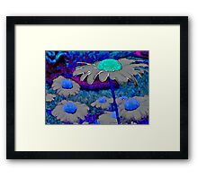 Surreal Daisies Framed Print
