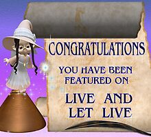 Live and Let Live banner challenge by LoneAngel