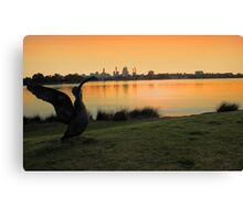 Swan River - Perth Western Australia   Canvas Print