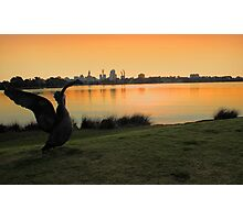 Swan River - Perth Western Australia   Photographic Print