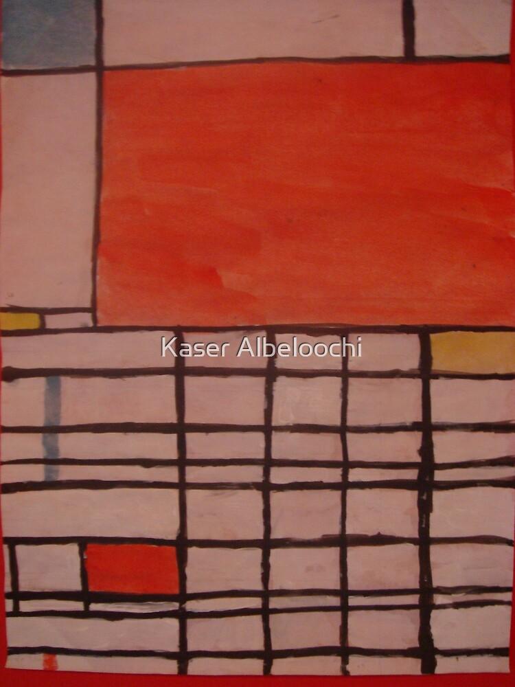 Piet Mondrian by Kaser by Kaser Albeloochi