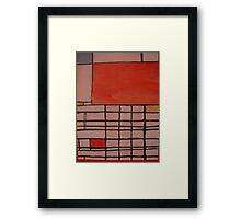 Piet Mondrian by Kaser Framed Print