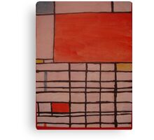 Piet Mondrian by Kaser Canvas Print