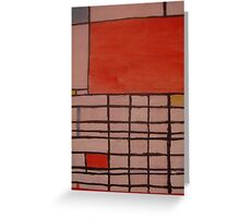 Piet Mondrian by Kaser Greeting Card