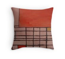 Piet Mondrian by Kaser Throw Pillow