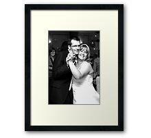 Rachael And Matthew Batson  Framed Print