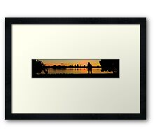 Tonights Dinner?  Framed Print