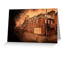 Lea and Perrins Worcester Sauce factory Greeting Card