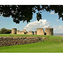 Flint Castle, North Wales, UK Photographic Print