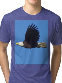 Eagle Fly By Tri-blend T-Shirt