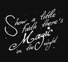Magic in the night - white text by nightjoy