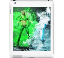 Fire and Ice DC Comics  iPad Case/Skin
