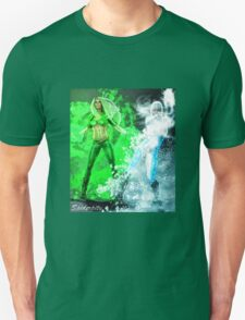 Fire and Ice DC Comics  T-Shirt