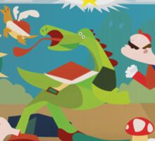 War of Mushroom Kingdom Sticker