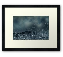 Blue For No Reason Framed Print