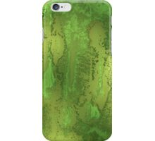 Green Thinking iPhone Case/Skin