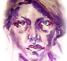Purple Portrait by ErikaNicole