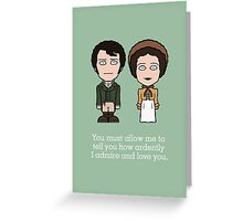 Pride & Prejudice (card or phone skin) Greeting Card