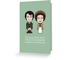 Pride & Prejudice (card or phone skin) Greeting Card