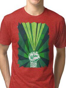 Green Lantern's light Tri-blend T-Shirt