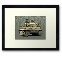 Dogs of War, Tiger 1 Framed Print