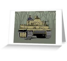 Dogs of War, Tiger 1 Greeting Card