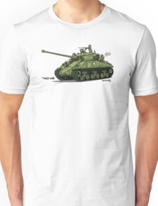 The Dogs of War: Sherman Tank T-Shirt