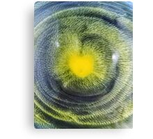 Abstraction watercolor painting - heart Canvas Print