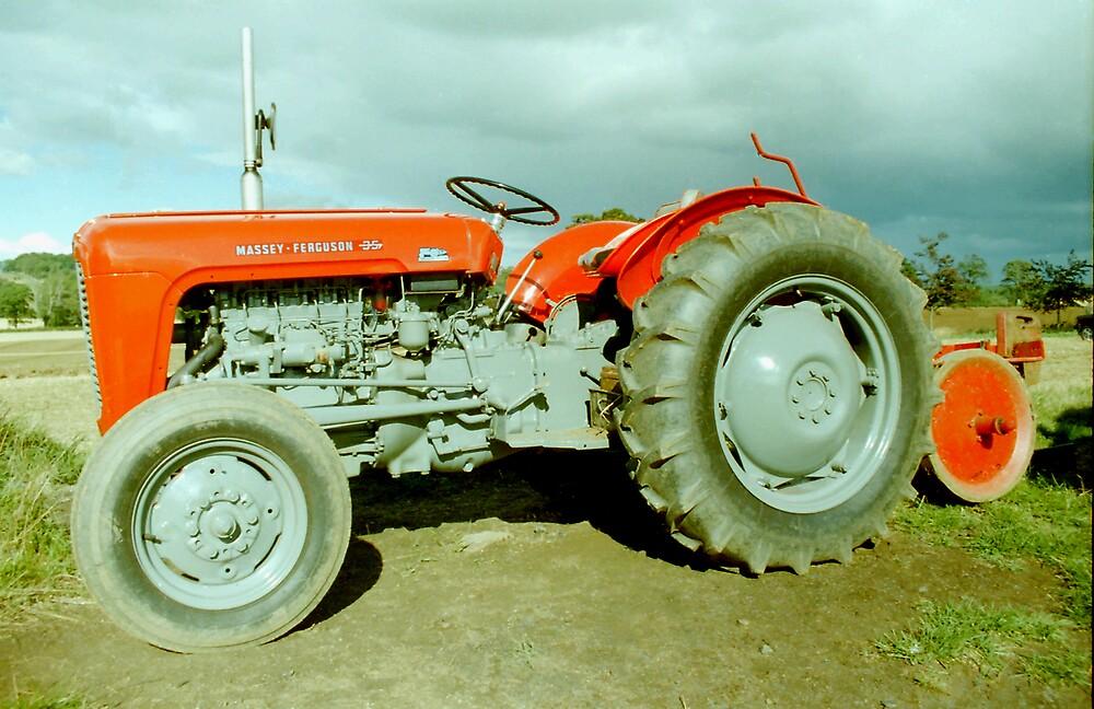 Massey Ferguson 35 Tractor by Edward Denyer