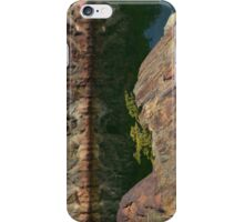 When trees grow from rocks iPhone Case/Skin