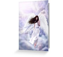 Some Clouds Have Wings Greeting Card