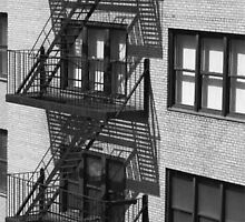 fire escape by AKimball
