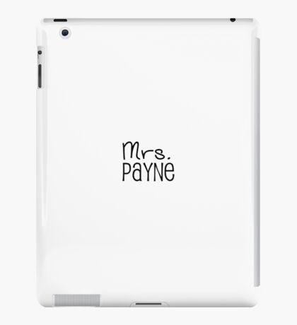 Mrs. Payne iPad Case/Skin