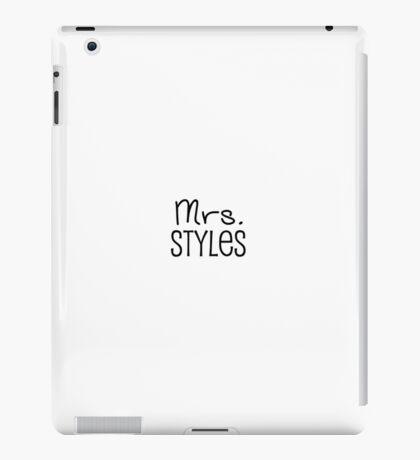 Mrs. Styles iPad Case/Skin