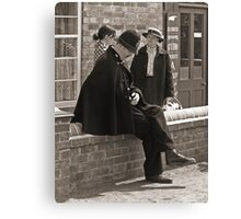 Pondering PC Canvas Print