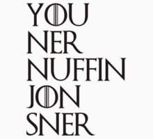 jon sner ners nuffin by toxtethavenger