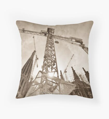 It's Looking Up in Spain Throw Pillow