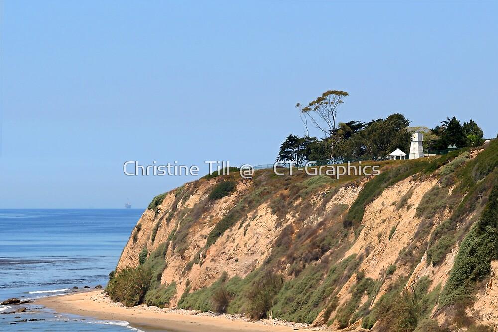 Santa Barbara Lighthouse, CA by Christine Till  @    CT-Graphics