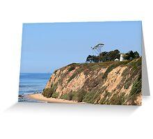 Santa Barbara Lighthouse, CA Greeting Card