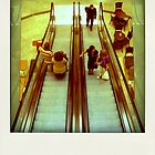 Escalator... by polaroids