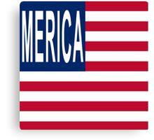 MERICA It's the New America Canvas Print